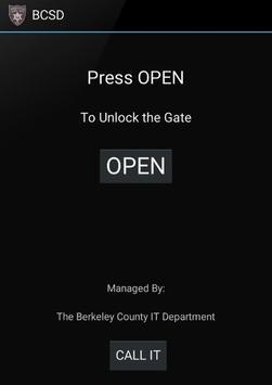 BCSD Gate Opener poster