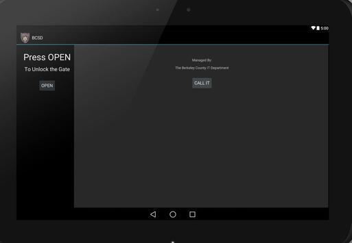 BCSD Gate Opener apk screenshot