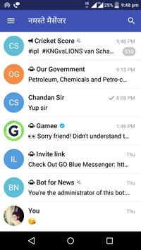 Namaste Messenger apk screenshot