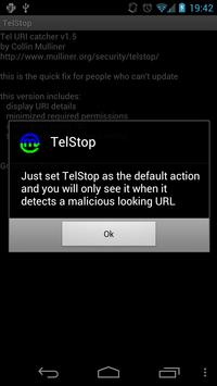 TelStop apk screenshot