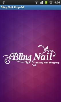 Bling Nail Shop Singapore poster