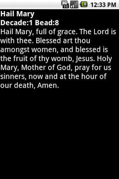 Mobile Rosary apk screenshot