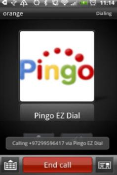 Pingo EZDial apk screenshot