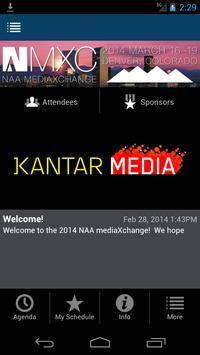 NAA mediaXchange 2014 poster