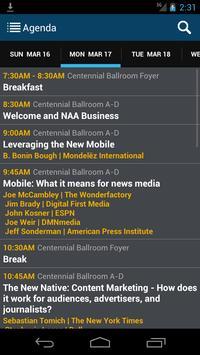 NAA mediaXchange 2014 apk screenshot