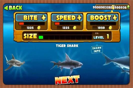 New tips for Hungry Shark EvoL apk screenshot