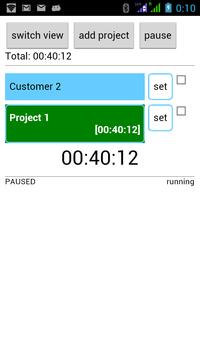Project Time Tracker poster