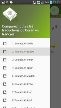 Comparer traductions de Coran poster