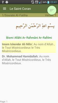 Comparer traductions de Coran apk screenshot