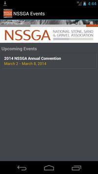 NSSGA Events poster