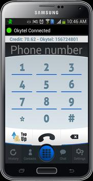 Okytel Free USA Number & Calls poster