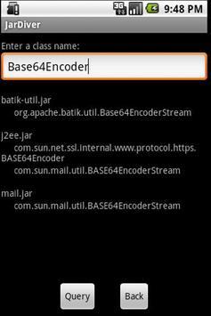 JarDiver apk screenshot