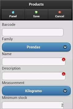 DroidMart Sales System apk screenshot