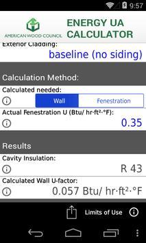 AWC Energy UA Calculator apk screenshot