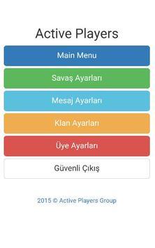 Active Players apk screenshot