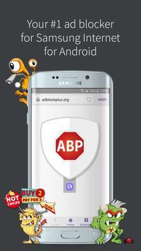 Adblock Plus (Samsung Browser) poster