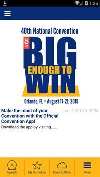 AFGE Events 2015 apk screenshot