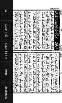 Holy Quran Dual Page IndoPak apk screenshot