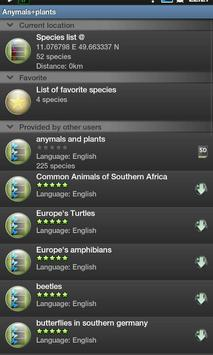 find & log animals and plants apk screenshot