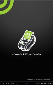 eProwin Citizen Printer CMP-20 poster