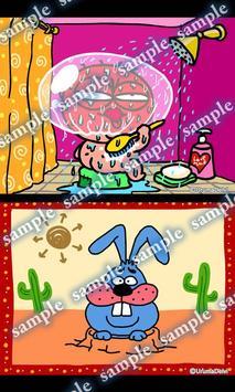 Daily Cartoon004 LWP & Clock apk screenshot