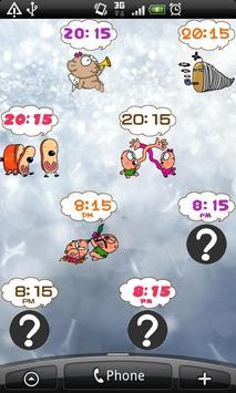 Daily Cartoon006 LWP & Clock apk screenshot