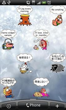 Daily Cartoon002 LWP & Clock apk screenshot
