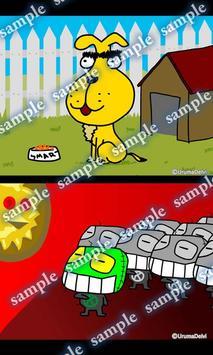 Daily Cartoon015 LWP & Clock apk screenshot