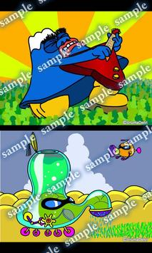 Daily Cartoon019 LWP & Clock apk screenshot