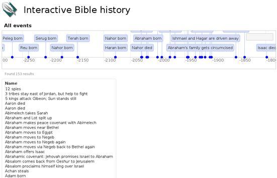 Interactive Bible history apk screenshot