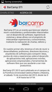 Barcamp STI apk screenshot