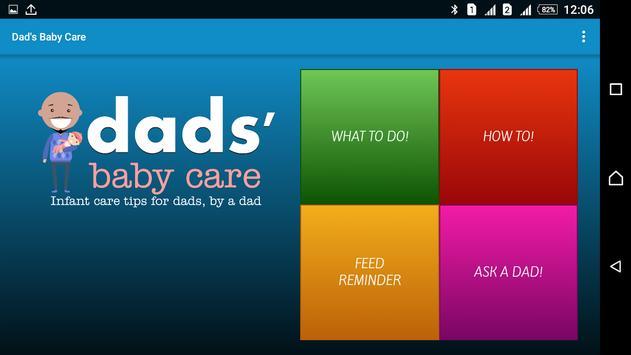 Dad's Baby Care Free apk screenshot