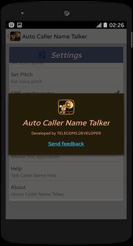 Auto Caller Name Talker poster