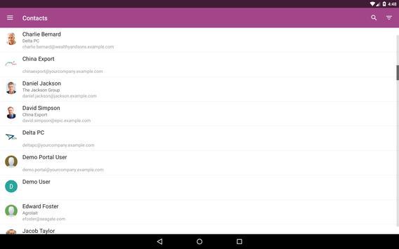 MyOdoo apk screenshot
