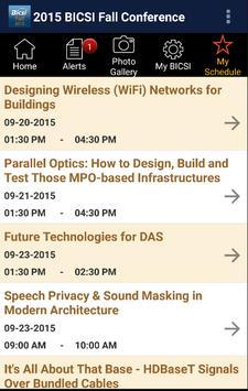 BICSI Fall 2015 apk screenshot