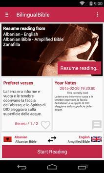 Bilingual Bible apk screenshot