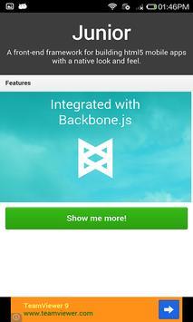 HTML5 Unity Toolbox apk screenshot