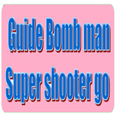 Guide bomb man super shooter icon