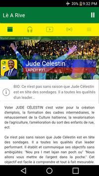 Jude Celestin poster