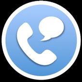 Callgram messaging with calls icon
