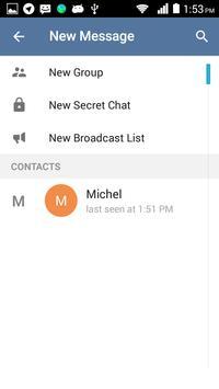 Callgram messaging with calls apk screenshot