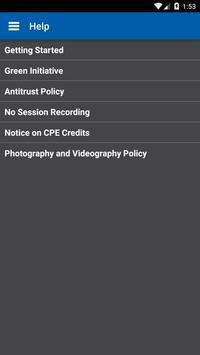 Conference: CCA Meeting App apk screenshot