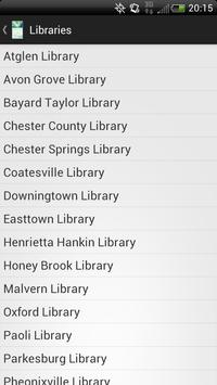 Chester County Library System poster