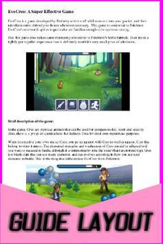 Tips and Guide for Evo Creo apk screenshot