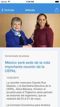 Conferencias de la CEPAL apk screenshot