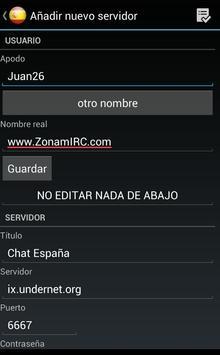 Chat Barcelona apk screenshot