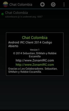 Chat Colombia apk screenshot