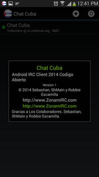Chat Cuba apk screenshot