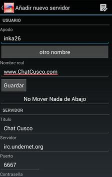 Chat Cusco apk screenshot