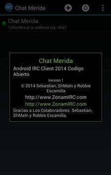 Chat Merida apk screenshot